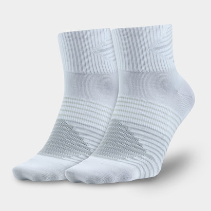 2 Pack Dri-FIT Lightweight Quarter Training Socks