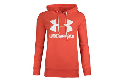 Womens Favourite Logo Fleece Hooded Sweat