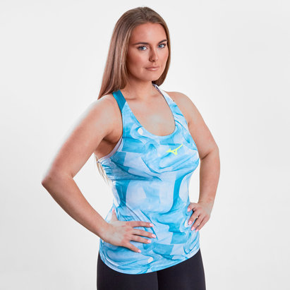 Ladies Printed Training Tank Top