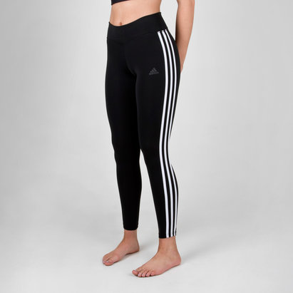 D2M Ladies Climalite 3 Stripes 7/8 Tights