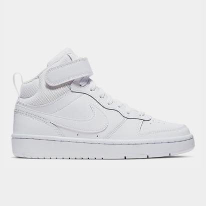 Nike Court Borough Mid 2 Big Kids Shoe