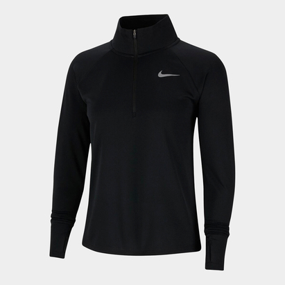 Nike Half Zip Core Long Sleeve Running Top Ladies