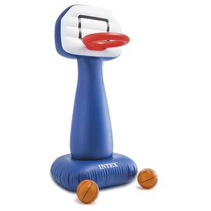 Intex Basketball Stand and Balls