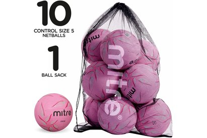 Mitre Control Netball Pack