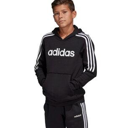 adidas Boys 3 Stripes Sweatshirt Hoodie