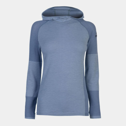 adidas ClimaHeat Long Sleeve Hooded Top Ladies