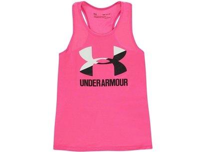 Under Armour Big Logo Tank Top  Junior Girls