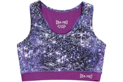 USA Pro Fitness Crop Top Junior Girls