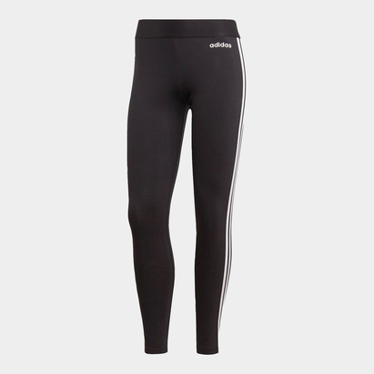 adidas Essential 3 Stripe Tights Ladies