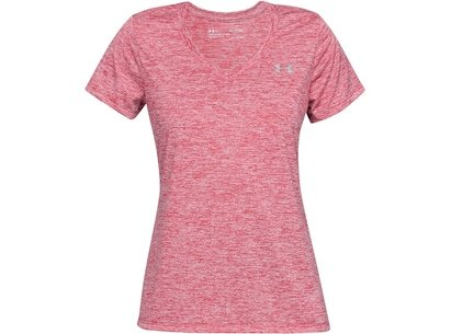 Under Armour Tech Twist Short Sleeve T Shirt Ladies