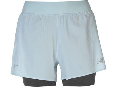 Karrimor 2 in 1 Shorts Ladies