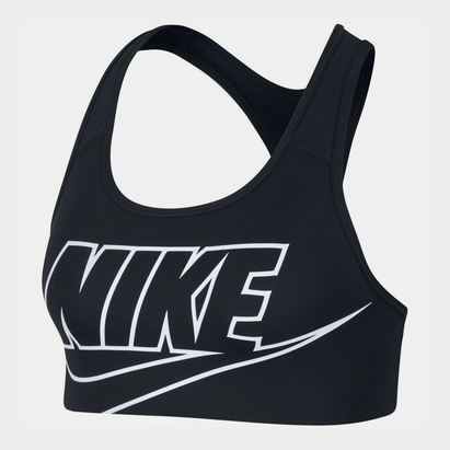 Nike Swoosh Futura Sports Bra Ladies
