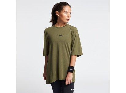 Nike Faho Short Sleeve Training Top Ladies