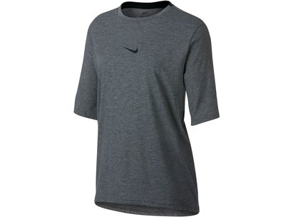 Nike Faho Short Sleeve Training Top Ladies