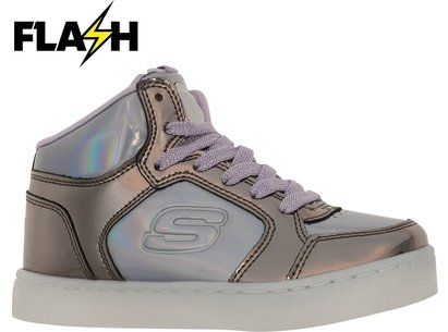 Skechers Energy Light Girls Mid Top Trainers