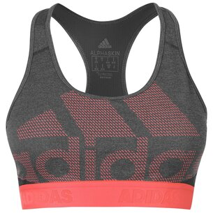 adidas Alphaskin Logo Bra Ladies