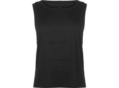 Nike Slogan Tank Top Ladies