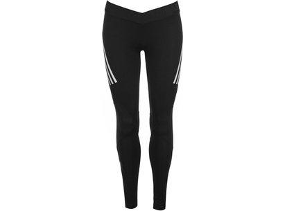 adidas Alphaskin Sport 3 Stripe Tights Ladies