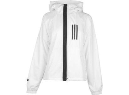 adidas 3 Stripe Windbreaker Jacket Ladies
