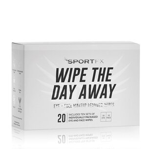 SportFX Makeup Remover Wipes
