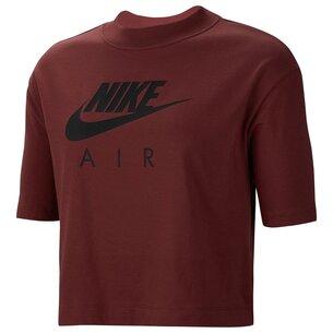 Nike Air Short Sleeve Crop Top Ladies