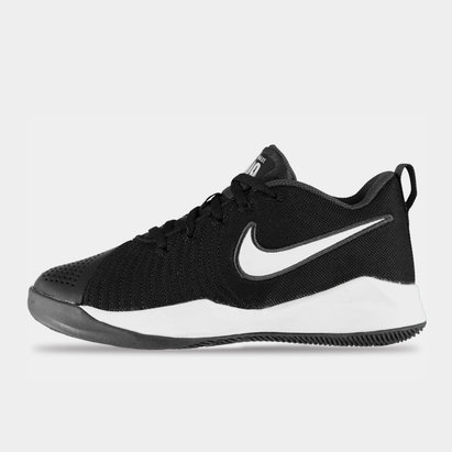 Nike Team Hustle Quick 2 Junior Indoor Court Shoes