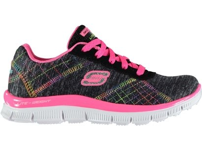 Skechers Appeal Its Electric Child Girls Trainers
