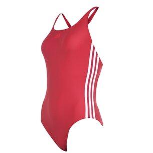 adidas Three Stripe Swimsuit Ladies