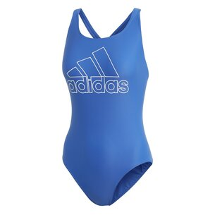 adidas Womens Fit Badge Of Sport Swimsuit