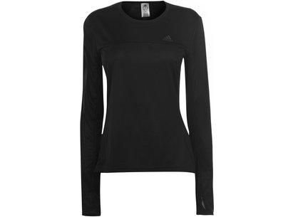 adidas Own The Run Long Sleeve T Shirt Ladies