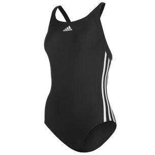 adidas Three Stripe Swimsuit Ladies