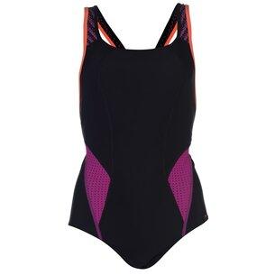 Speedo Fit Powermesh Swimming Costume Ladies