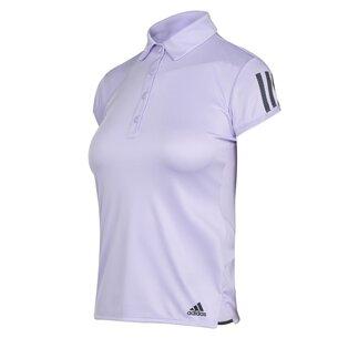 adidas Womens Tennis Club 3 Stripes Polo Shirt