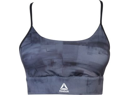 Reebok MYT All Over Print Sports Bra Ladies