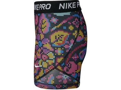Nike All Over Print Girls Shorts
