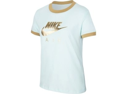 Nike Air Logo T Shirt Junior Girls