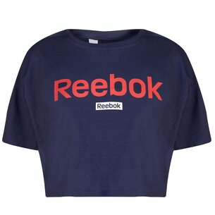 Reebok Linear Crop Top Ladies
