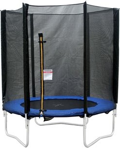 Donnay 8ft Trampoline with Enclosure