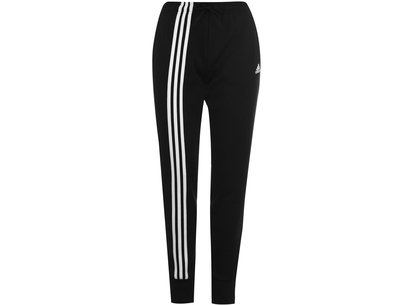 adidas 3 Stripe Tracksuit Bottoms Ladies