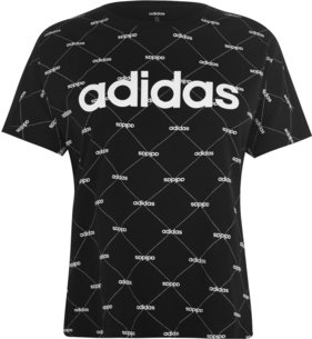 adidas Fave T Shirt Ladies