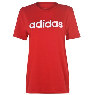 adidas Linear Boyfriend QT T Shirt Ladies