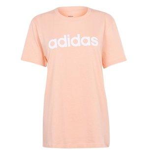 adidas Linear Boyfriend QT T Shirt Ladies