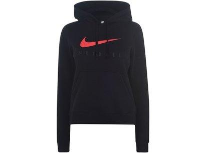 Nike England Netball Hooded Sweatshirt