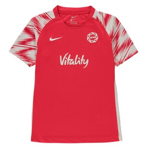 Nike England Netball Short Sleeve T Shirt Junior