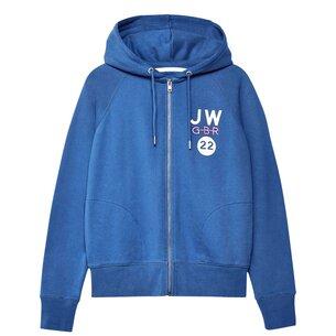 Jack Wills Hayley Lightweight Zip Through Hoodie
