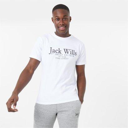 Jack Wills Carnaby Logo T Shirt