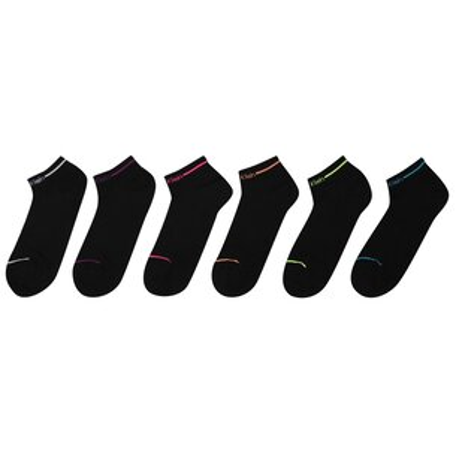 Calvin Klein Underwear 6 Pack Trainer Socks Ladies