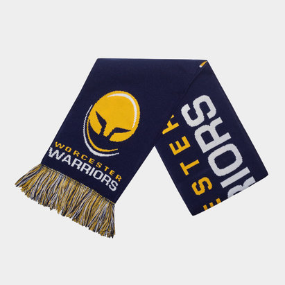 Worcester Warriors Tritone Supporters Rugby Scarf