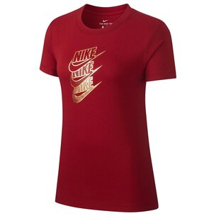 Nike Shine Short Sleeve T Shirt Ladies