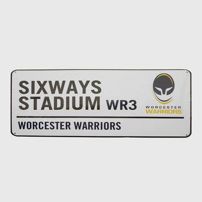 Worcester Warriors Classic Street Sign